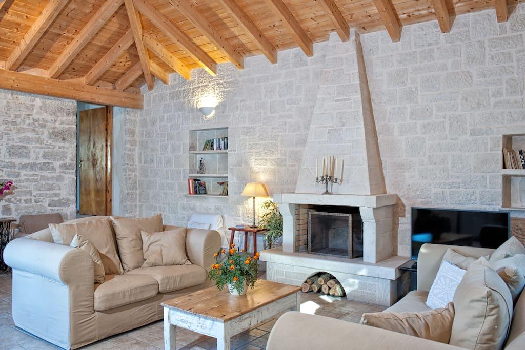 Villa Pietra - Built Stone Mediterranean Villa