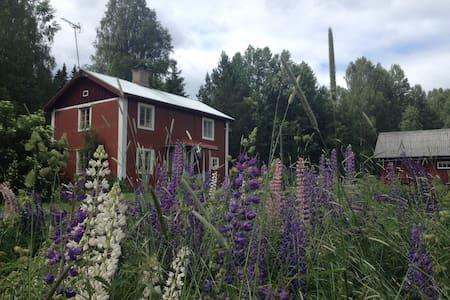 A small authentic farmhouse.