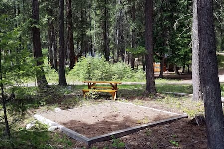 Valhalla Pines Tent Site 1 w/ WIFI & amenities