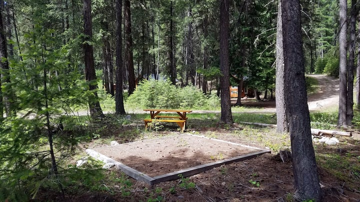 Valhalla Pines Tent Site 1 - WIFI, free hot shower