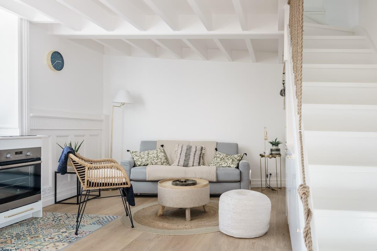 Goûtez à la pureté dans une maison basque d'exception