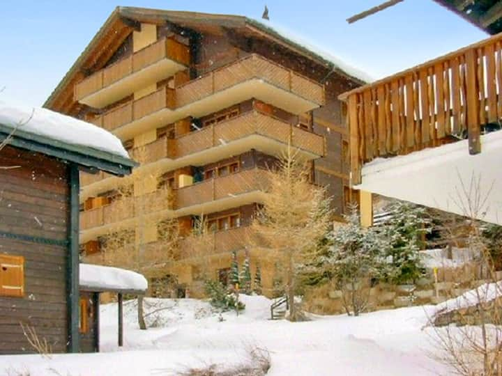 Apartment with 2 bedrooms in Bellwald, with wonderful mountain view, balcony and WiFi