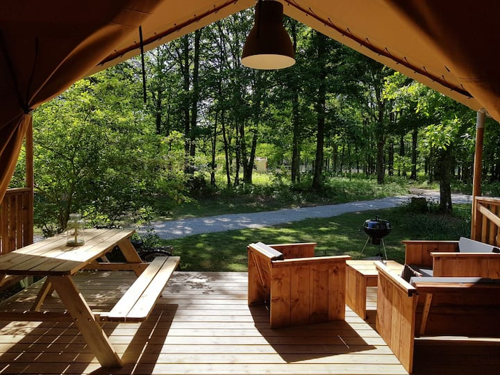 Luxury Safari Lodge near Futuroscope