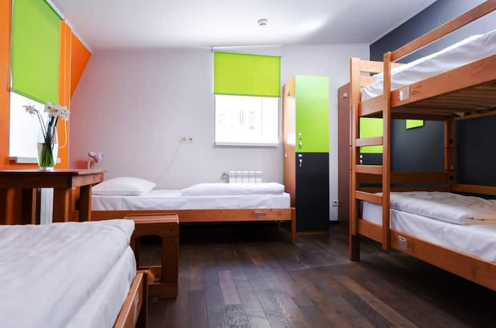 Bed in the Biggest High Rated Hostel