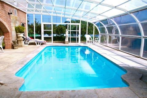 Apartamentos individuales con piscina