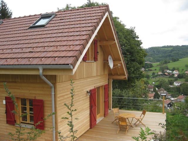 Chalet dans les Vosges (2-6pers.) tout confort