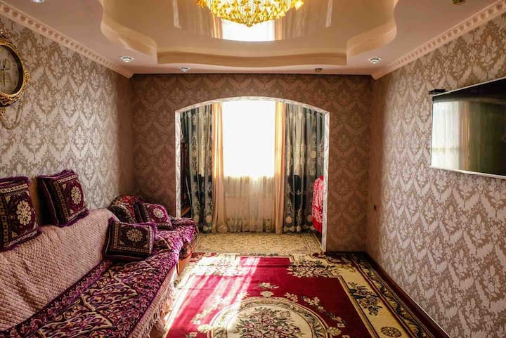 Quiet apartment in Bishkek city
