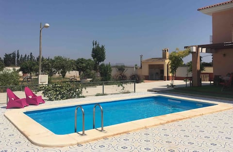 Two bedroom guesthouse in rural southern Spain.