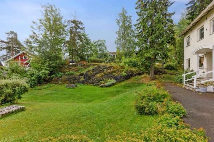 Lovely double in green area - Sandvika - Appartement