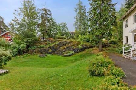 Lovely double in green area - Sandvika