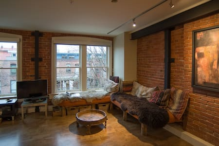 Art Loft, in the heart of Victoria's Old Town - Victoria - Appartement