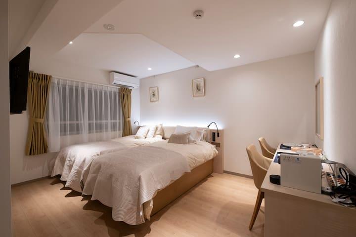 C room「Studio Inn Nishi Shinjuku」Twin Standard