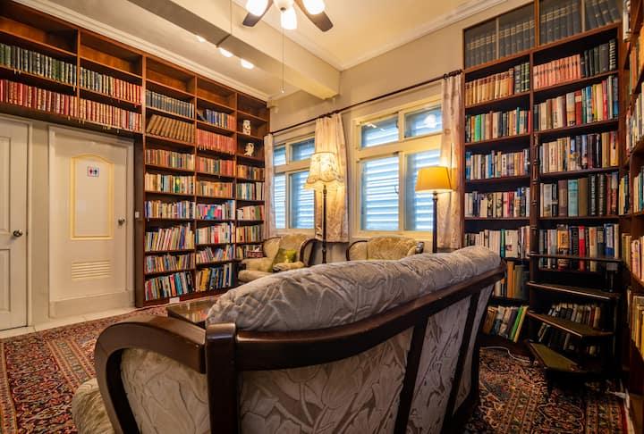 台東成功觀邸民宿【和室4-6人房】!住進英式家庭書店風小屋、一起看海散步閱讀+發呆!
