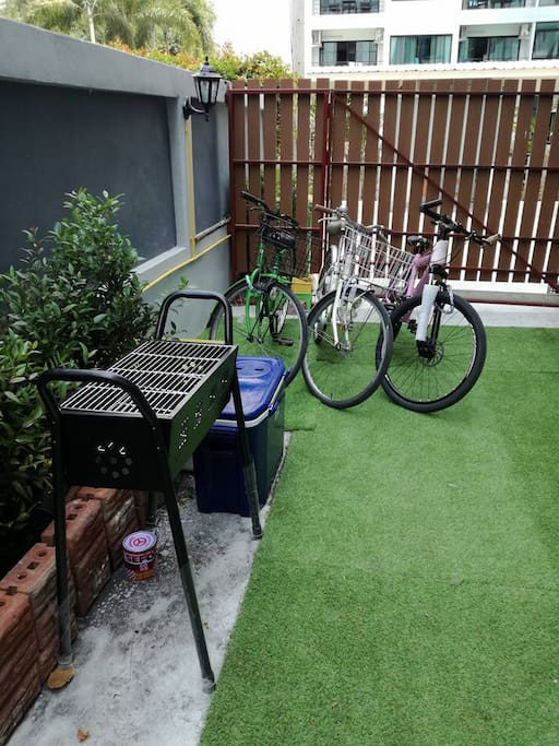Free BBQ Stove and Bicycles