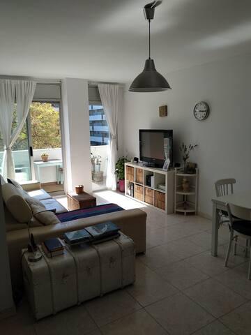 2/19 Luminosa sala de estar / Bright Living room