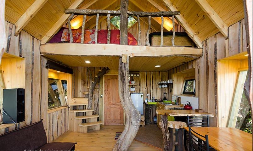 Cañete, Refugio arbóreo encantado