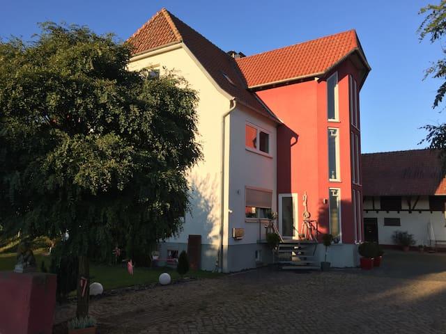 Stadtnah entpannt im Grünen wohnen..... - Espenau - House