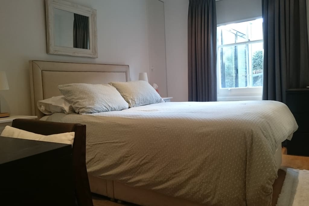 100% cotton and professionally laundered bed linen