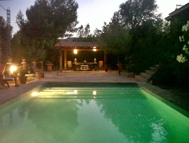 Chalet rural con piscina en plena naturaleza