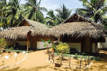 Sun Wind Beach Kalpitiya Twin Bed Cabana - No 2.