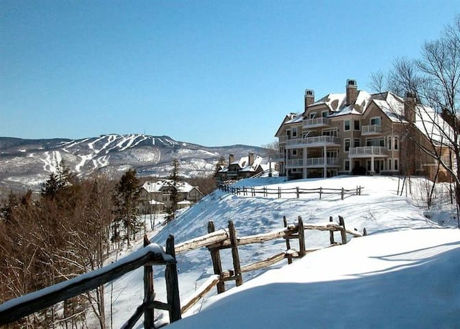 Mont-Tremblant condo with Mountain View