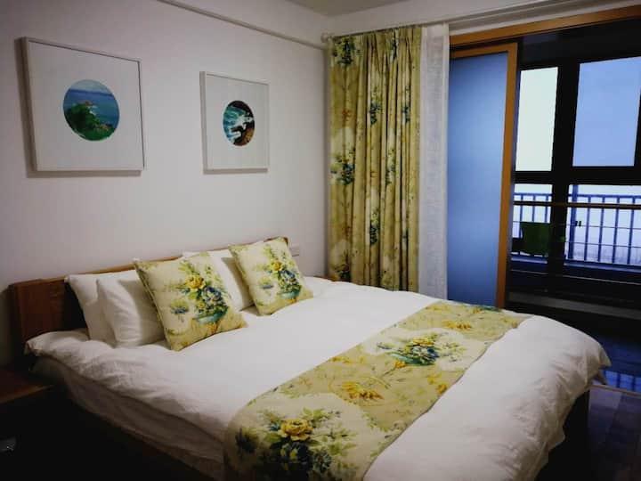 天悦湾度假村二居室海景公寓8号603室Two-bedroom Seascape Apartment