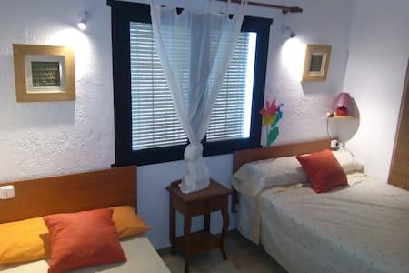 Apartamento tranquilo en el centro Mojacar Pueblo - Mojácar