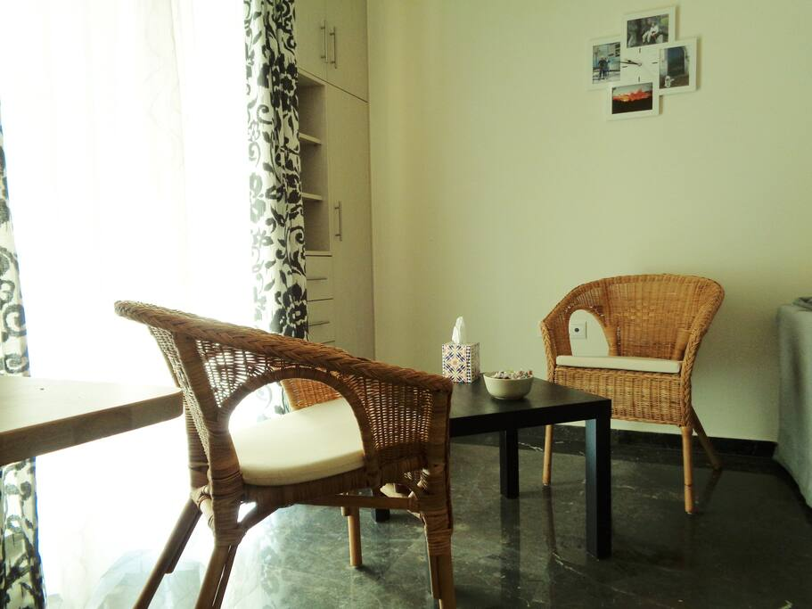 A relaxing corner!
