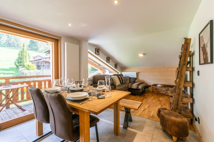 Charming Alpine Apartment In The Heart Of Morzine