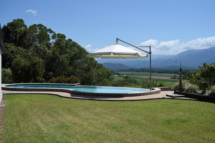 Rainforest views Rent whole house