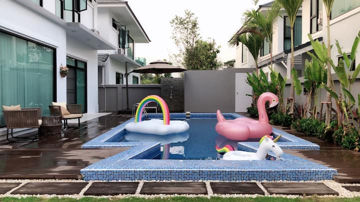 玛哒咪3清迈市区泳池别墅,免费机场接送,旅行行程规划