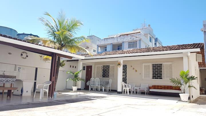 Casa ampla 7 quartos cabe 22 pessoas em Guarapari