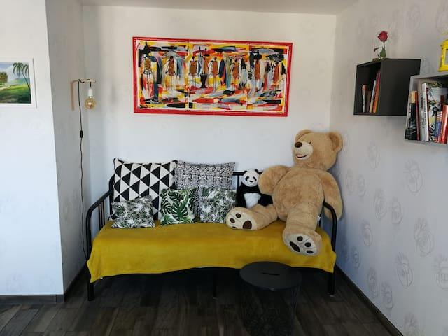 Appartement ensoleillé à 45 min de Paris