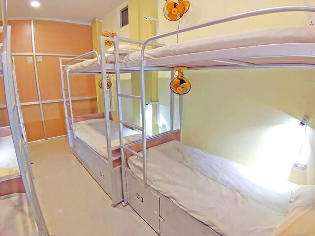 Bed in Mix Dorm at Hotel Ganesha At Assi Varanasi IV