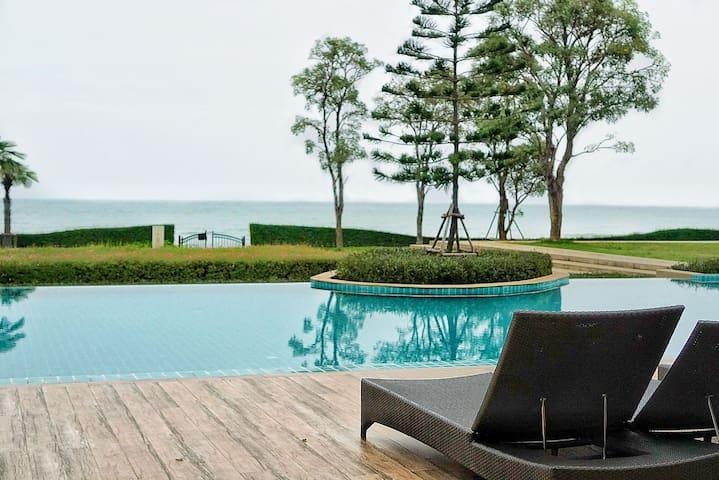 Lovely House/beachfront/ChaAm-HuaHin/Tuscany