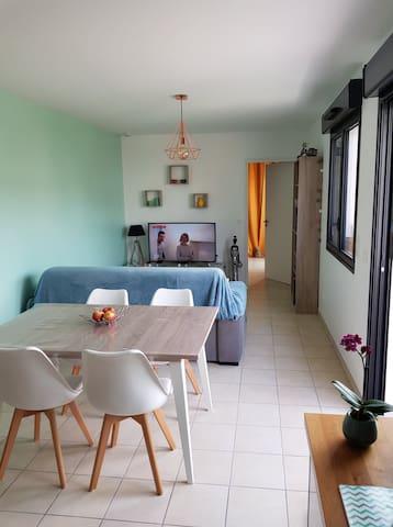Appartement lumineux et moderne