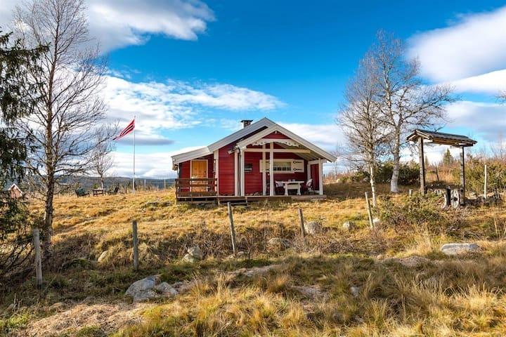 Koselig hytte på Kittilbu/Værskei