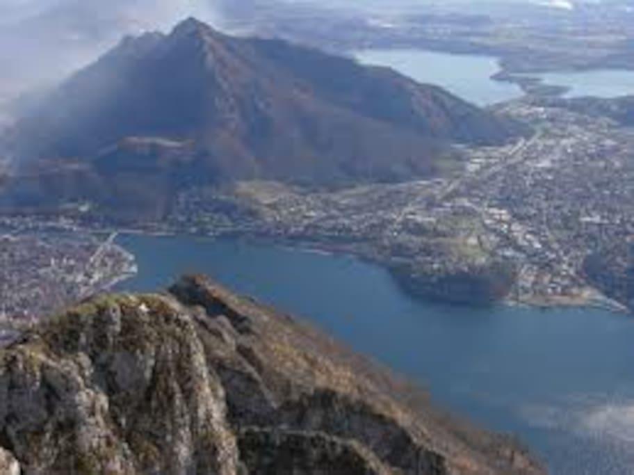 lecco il suo lago e le montagne