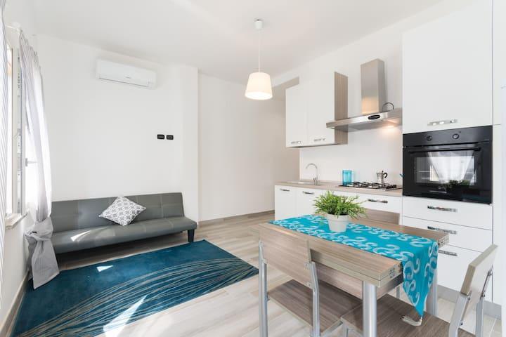 Appartamento nuovo e luminoso in pieno centro