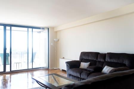 1BR/1Bath+living room, amazing view - New Brunswick  - 公寓