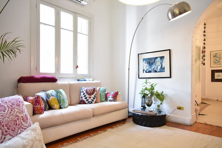 Cozy, Spacious, Sunny & Clean - Cairo - Apartment