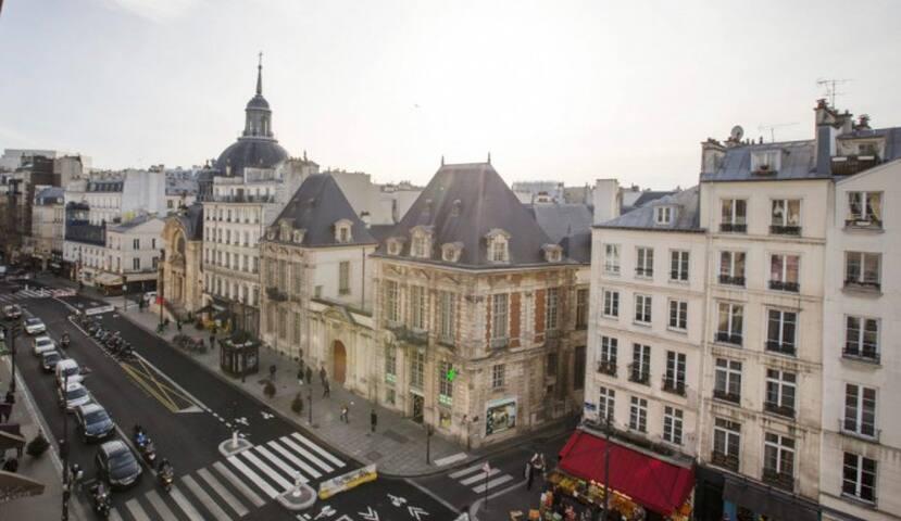 Studio cosy dans le 4e arrondissement de Paris