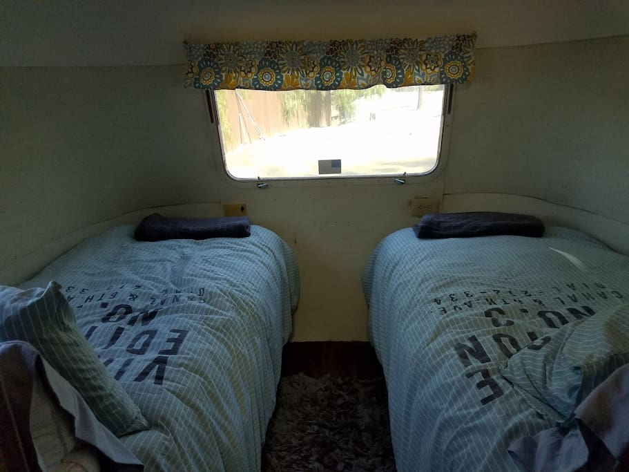 Twin-size beds