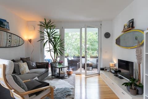 Gemütliche Wohnung an der Leopoldstraße