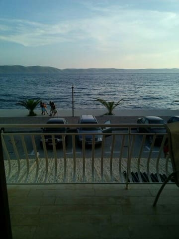 Breathtaking apt. on the Adriatic