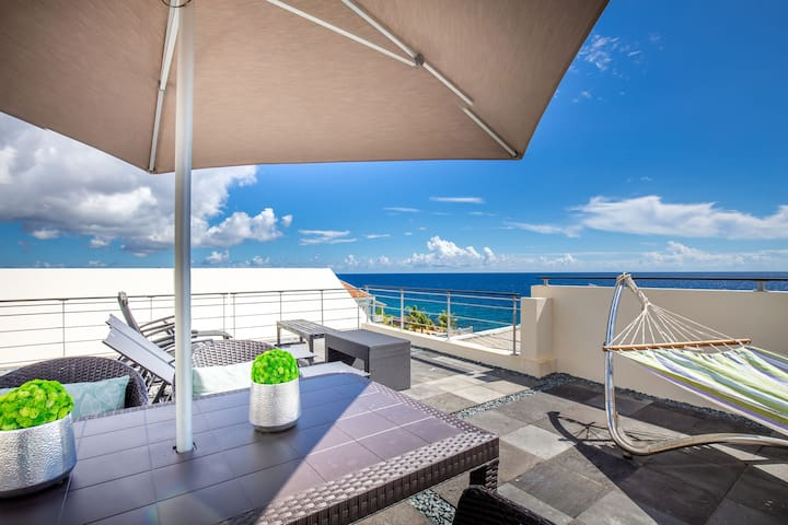 Amazing Sea View Penthouse w/ Private Rooftop