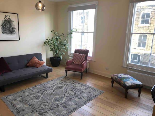 Lovely split level  2 bedroom flat