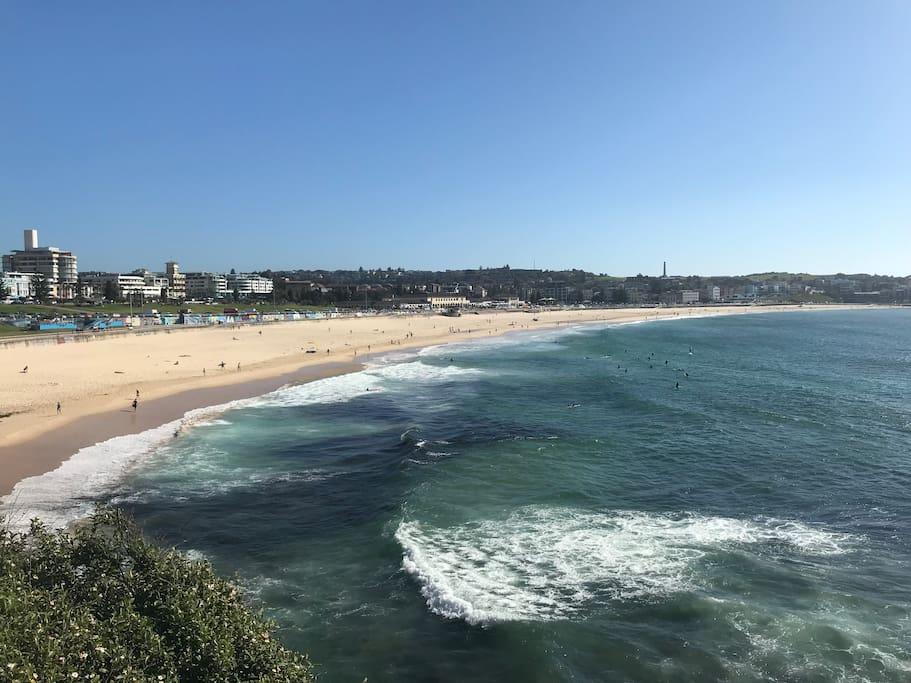 Bondi Beach - 2 min walk