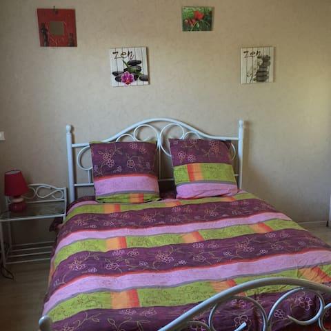 Appartement 2 pièces RDC jardin - Saint-Flour - Apartment