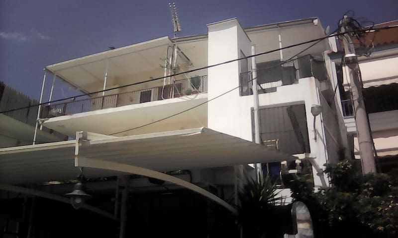 Two bedroom apartment right on the beach!
